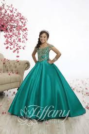 Tiffany Princess Pageant Dress Size Chart