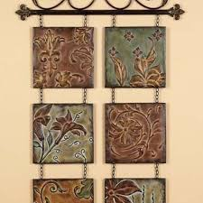 tuscan fleur de lis hanging metal wall art wall decor