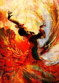jazz painting flamenco dancer 021 by mahnoor shah