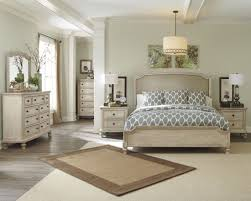 ashley furniture demarlos upholsthered panel bedroom set