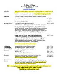 veterinary technician resume examples resume samples our collection of free resume examples veterinary technician resume samples