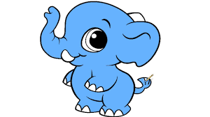Small Picture Baby Elephant Coloring Page For Kids YouTube