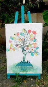 Wedding Guest Book For Sale Fingerprint Wedding Tree Wedding Guest Book Wedding For Sale In Kepong Kuala Lumpur