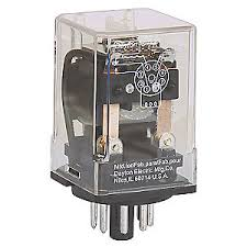 dayton 120vac 8 pin octal base general purpose plug in relay ac 120vac 8 pin octal base general purpose plug in relay