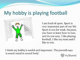 my hobbies essay sports   essay    quot our hobby is dancing this pion we