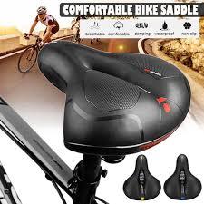 Extra Wide Comfy <b>Cushioned Bike</b> Seat Soft Padded <b>Bicycle</b> Gel ...