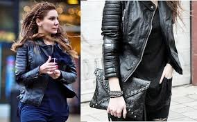 Zara Lambskin Lamb Leather Padded Quilted Shoulder motorcycle ... & Zara Lambskin Lamb Leather Padded Quilted Shoulder motorcycle Biker Jacket  8-10 | eBay Adamdwight.com