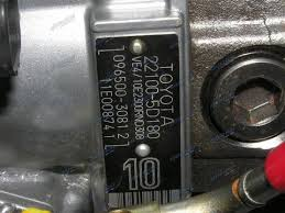 096500-308T - EXCHANGE PUMP TOYOTA HILUX 5LE TURBO SPEC | Denco ...