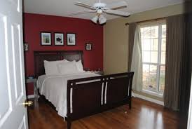 Red Accent Wall Bedroom Guest Bedroom Decor Thoughts Project