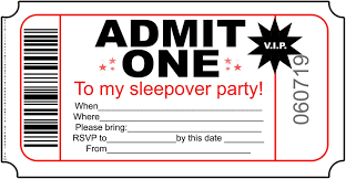 sleepover template perfect invitations for sleepover party templates invitation
