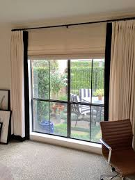 Office drapes Desk La Dolce Vita Home Office Drapes Losangeleseventplanninginfo When To Use Stationary Drapery Panels The Shade Store