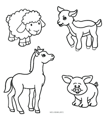 Farm Animal Coloring Sheets Special Offer Farm Animals Coloring