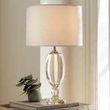 lexington crystal table lamp base pottery barn