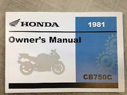 1981 honda cb750 cb 750 custom owners