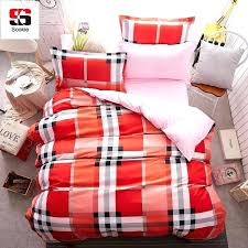 red plaid duvet cover red gingham duvet cover double red and black plaid flannel duvet cover