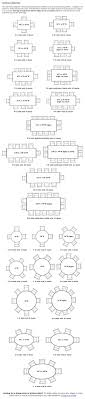 Round Table Seating Capacity 17 Best Ideas About Reception Table Layout On Pinterest