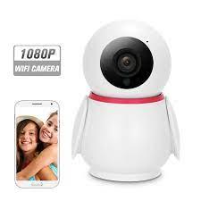WIFI Kamera 1080 P kablosuz ip kamera bebek izleme monitörü Hareket  Algılama Izleme sesli alarm P/T/Z Güvenlik Kamera bebek izleme  monitörü|Surveillance Cameras
