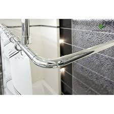 pipe shower curtain rod pipe shower curtain rod for our weirdly shaped corner shower pertaining to pipe shower curtain rod