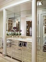 Mirrored Bathroom Vanity view full size