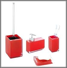 red glass bathroom accessories. Bathroom Accessories Sets Ikea Set Red  Ideas Glass S
