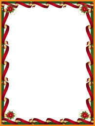 Microsoft Clipart Templates Christmas Border Templates For Microsoft Word Vectorborders Net
