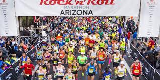 Rock 'n' Roll Arizona Marathon womens results 2016