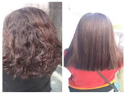 my experience with keratin treatment for curly hair plate full of delight