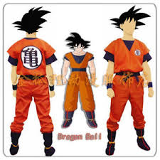Details About Anime Dragon Ball Z Son Goku Cosplay Costume Fancy Party Clothing Top Pant Sets