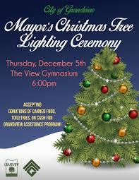 Kansas City Mayor S Christmas Tree Lighting Ceremony City Of Grandview Mayors Christmas Tree Lighting Kc