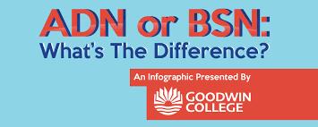 Adn Vs Bsn Adn Vs Bsn Infographic Goodwin College