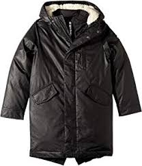 Extra Soft Lined Zip and Button Up Himalaya Down Coat with Hood (Toddler /Little Boy\u0027s Coats \u0026 Outerwear | Clothing 6PM