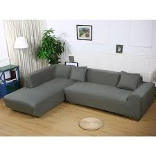 couch covers sectional. Brilliant Couch Enipate L Shape Stretch Elastic Fabric Cover Sectional Corner Couch Covers  Sofa Anti On A