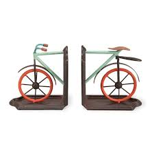 Books On Bicycle Design Foreside Bike Book Ends Amazon In Electronics