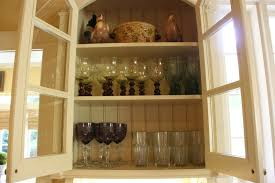 Dish Display Cabinet Vignette Design Kitchen Cabinets Vs Open Shelves And The Art Of