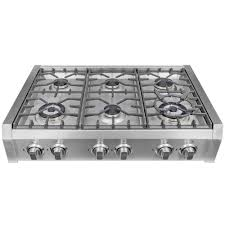 gas cooktop with grill. Gas Cooktop In Stainless Steel With Griddle And 6 Burners Grill P