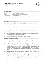 Confortable Resume Examples For Beauty Therapist For Therapist