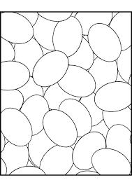 Kleurplaat Paaseieren 5744 Kleurplaten