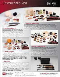 ben nye essential kits and tools personal makeup kit theatrical makeup kit cake