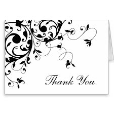 Thank You Black And White Printable Thank You Cards Printable Black And White Major Magdalene