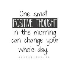 Get Those Positive Thoughts Flowing Atlanta School Of