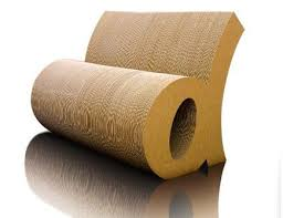 image from san serif cardboard furniture