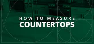 how to measure countertops tools