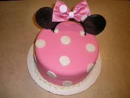diy minnie mouse cake project