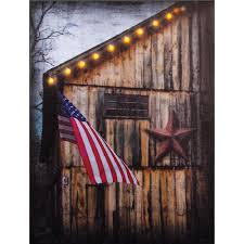 americana lighted canvas print on americana canvas wall art with americana lighted canvas patriotic wall art sturbridge yankee