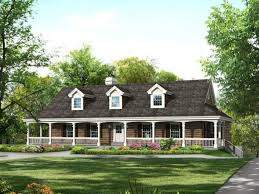 perfect farm style house plans with wrap around porch low country and p
