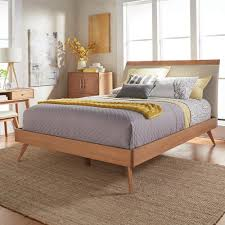 wood platform bed frame full. Exellent Wood HomeSullivan Holbrook Natural Full Platform Bed On Wood Frame