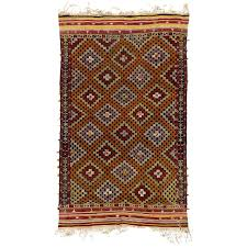 vintage anatolian jijim kilim rug for