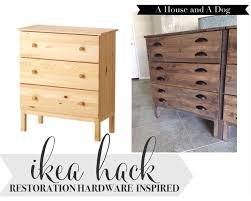 diy modern ikea tarva hack. Restoration Hardware-Inspired IKEA Console Hack For The Entryway By Ahouseandadog Diy Modern Ikea Tarva T