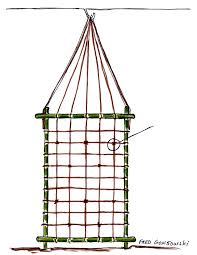 Rope Trellis Designs An Easy To Make And Inexpensive Trellis For Clematis