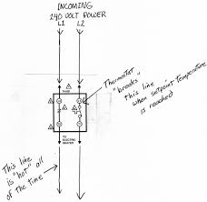 wiring diagram for thermostat on baseboard heater wiring electric baseboard thermostat wiring diagram wiring diagram on wiring diagram for thermostat on baseboard heater